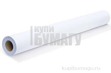 Рулон для плоттера, 914 мм х 50 м х втулка 50, 8 мм, 80 г/м2, белизна CIE 146%, диаметр 100 мм, BRAUBERG, 110458