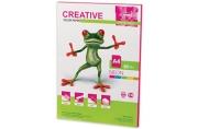 Бумага неон малиновая CREATIVE color (Креатив) А4, 80г/м, 50 л,, БНpr-50м, ш/к 44868