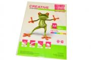 Бумага CREATIVE color (Креатив) А4, 80г/м, 50 л. неон желтая, БНpr-50ж, ш/к 44875