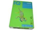Бумага IQ color А4, 160 г/м, 250 л., интенсив зеленая MA42 ш/к 06480 цена за 1 лист