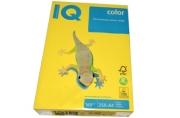 Бумага IQ color А4, 160 г/м, 250 л., интенсив канареечно-желтая CY39 ш/к 02925 цена за 1 лист