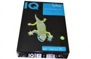 Бумага IQ (АйКью) color А4, 160 г/м, 250 л., интенсив черная В100 ш/к 45243