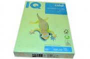 110797 Бумага IQ (АйКью) color А3, 80 г/м, пастель зеленая (цена за 1 лист) MG28 ш/к 02727