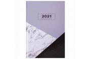 2021 Ежедневник датированный 2021 А5 (145х215мм), ламинированная обложка, STAFF, Стиль, 111821