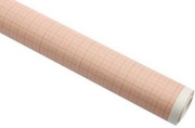 Бумага масштабно-координатная, рулон 878мм х10м, оранжевая