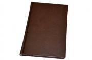 "Ежедневник BRAUBERG недат. А5 148*218мм ""Favorite"", под классическую кожу, 160л., коричневый,"