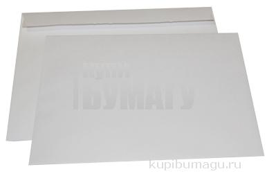 Конверты С4, отрывная полоса STRIP, белые, 229х324мм, ш/к-70758