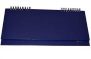 Планинг настольный STAFF недат. 285*112мм, 64 л, бумвинил, темно-синий, 127057