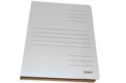 Скоросшиватель из микрогофрокартона, 30 мм, белый, до 300 листов STAFF