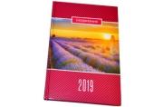 2019 Ежедневник дат А5, обложка 7БЦ, Родные просторы, 160л, 145*215мм, BRAUBERG, 129273