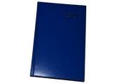 2020 Ежедневник датированный 2020 А5, BRAUBERG Select, кожа классик, голубой, 138*213мм, 129718