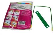Механизм для скоросшивателя разъемный Attache металл/пластик, 10 шт., зеленый