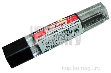 Грифели для механических карандашей 12шт., 0,5 мм, HB