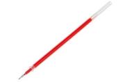 Стержень гелевый красный, 0. 5 мм, внутренний d-2. 4 мм, L-128 мм игольчатый пишущий узел пластик/мета