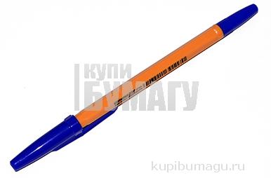 Ручка шариковая CORVINA (Италия) 51 Vintage, СИНЯЯ, корпус оранжевый, 1мм, линия 0, 7мм, 40163/02G
