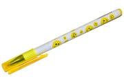 Ручка шариковая BRAUBERG Смайлики, корпус с печатью, узел 0, 7мм, линия 0, 35мм, синяя, 141534
