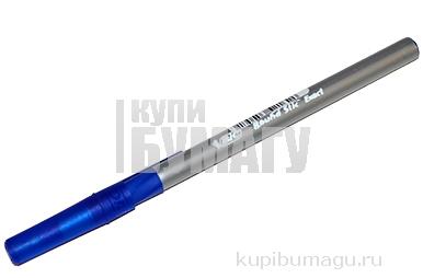 Ручка шариковая BIC Round Stic Exact, корпус серый, 0, 8мм, линия 0, 3мм, резин. упор, синяя, 918543