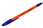 Ручка шариковая BRAUBERG X-333 Orange, корпус оранжевый, узел 0, 7мм, линия 0, 35мм, синяя, 142409