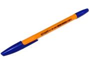 Ручка шариковая STAFF BP-1000, корпус оранжевый, узел 0, 7мм, линия 0, 35мм, синяя, BP148