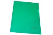 Папка-уголок А5, 180мкм, Berlingo, зеленая