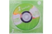 Диск DVD+R 4. 7Gb Smart Track 16x (бумажный конверт)