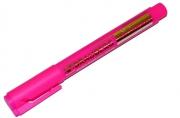 "Текстмаркер BRAUBERG ""Energy"", круглый корпус, скошенный наконечник 1-3мм, розовый,"