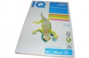 Бумага цветная IQ COLOR (А4, 80г, 4цв. GN/GB/OR/PI по 50л. ) 200л/пач.