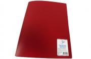 Папка 20 вклад. OfficeSpace, 16мм, 400мкм, красная