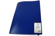 Папка 20 вклад. OfficeSpace, 16мм, 400мкм, синяя