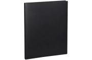 Папка с зажимом OfficeSpace, 14мм, 450мкм, черная