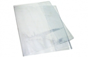 Обложка д/тетради и дневника прозр. ПВХ 120мкм. Размер 350*210