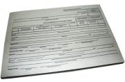 """Бланк """"Расходный кассовый ордер"""" А5 (форма КО-2), газетка, 100 экз. Спейс"""
