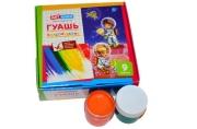 "Гуашь ArtSpace ""Космонавты"", 12 цветов, 20мл, картон"