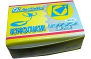 Кнопки /J. Оtten/ 50шт, 203ZH, цветные, картонная коробка /10 /0 /500