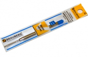Стержень шариковый BRAUBERG (тип PARKER), PRK003, металлический, 1мм, упаковка с подвес, 170199, син