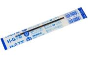 Стержень шариковый ZEBRA H 140мм, евронаконечник, узел 0, 7мм, линия 0,5 мм, синий, BR-6A-H-BL