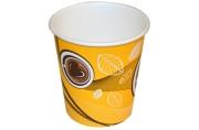 """Стакан одноразовый бумажный d-80мм, 250мл, Huhtamaki """"Кофе с собой"""""""