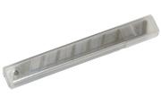 Лезвия для канцелярских ножей 9мм, 10шт., в пластиковом пенале OfficeSpace,