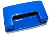 Дырокол OfficeSpace 10л., металлический, синий