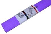 Бумага цветная креповая 50*250см WEROLA плотн 32г сиреневый