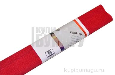 Бумага цветная креповая 50*250см WEROLA плотн 32г рубин