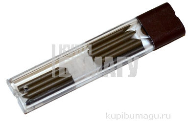 Грифель запасной для циркуля KOH-I-NOOR НВ 1, 9 мм, 10 шт., 4872002001PK