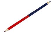 Карандаш двухцветный КРАСНО-СИНИЙ, BRAUBERG, заточенный, грифель 2, 9 мм, 181253