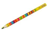 Карандаш с многоцветным грифелем ЮНЛАНДИЯ MAGIC, 1 штука, утолщенный, заточенный, 181373