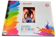 """Картины по номерам 40*50 """"Образы. Девушка в джинсах"""" MAZARI M-6411"""