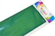 Бумага цветная креповая 50*250см MAZARI плотн 32г зеленая M-8845