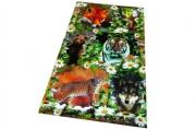 Наклейки Лесные Животные А6
