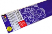 Бумага цветная креповая 50*250см плотн 32г ультрамарин е/п WEROLA 12800-122