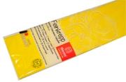 Бумага цветная креповая 50*250см плотн 32г желтый е/п WEROLA 12800-106