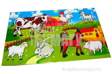 Наклейки Ферма рисованные А6